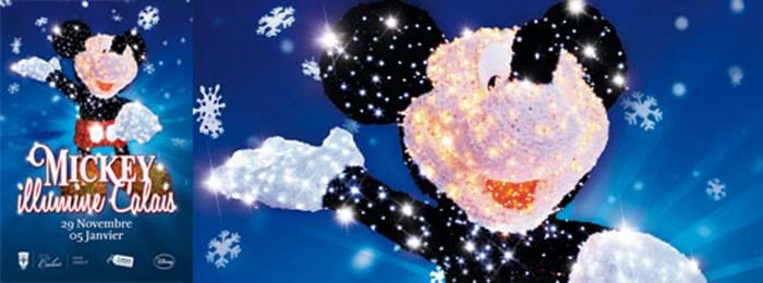 Calais Celebrates Christmas with Mickey Mouse!