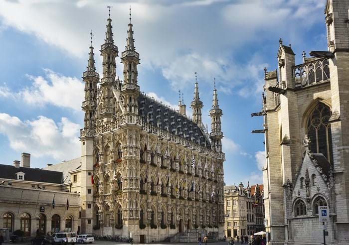 The Stadhuis is a must see when you come to Leuven- you'll be missing out if you don't marvel at its gothic architecture.