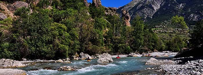 Take on the rapids of the Guil River