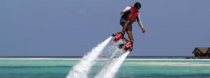 Do you dare to flyboard