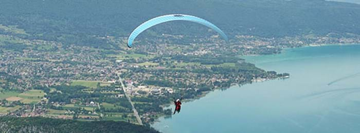 Paraglide over France's beautiful countryside