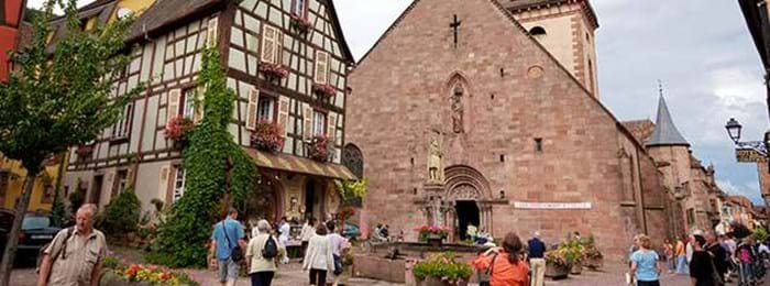 Kaysersberg is a stunning part of the Alsace region