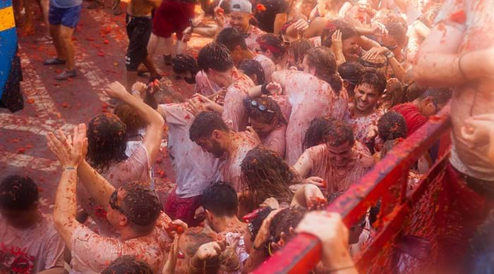 La Tomatina, the most fun you can have with tomatoes!