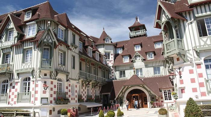 Famous guests such as Winston Churchill and Coco Chanel have stayed at the Hotel Normandy.